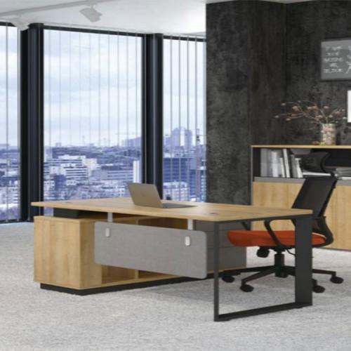 板式电脑桌办公家具02