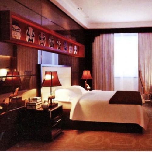 星级酒店豪华套房家具
