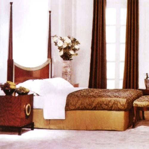 酒店套房标间床家具A-