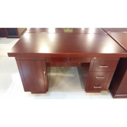 古典红色办公桌RT
