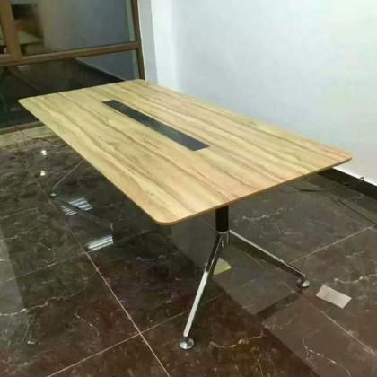 单柱人字会议桌