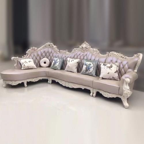 别墅欧式沙发木线39