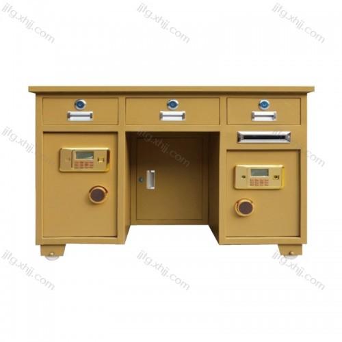 全钢保险桌指纹财务办公桌BXZ-05