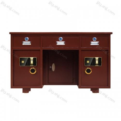 全钢办公桌带保险柜桌BXZ-01
