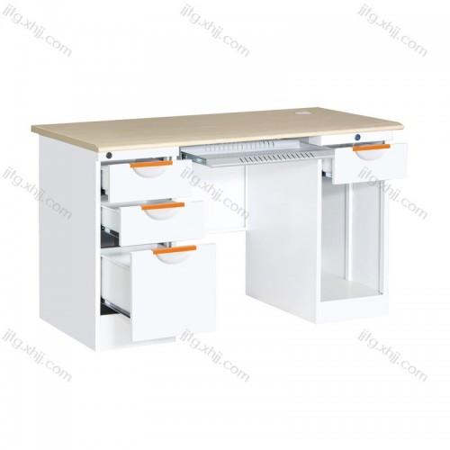 钢制办公桌带抽屉写字台GZBGZ-10