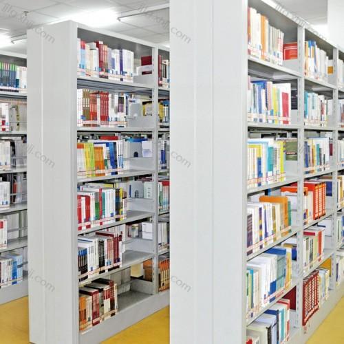 钢制双面书店图书馆书架SJ-01