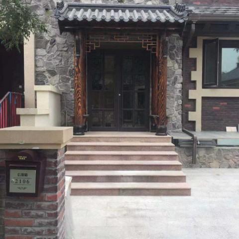 香河户外家具碳化木实木凉亭门头哪家好?款式多价格合理?