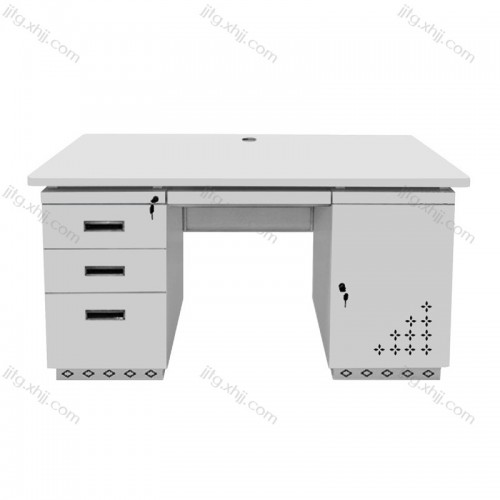 员工电脑桌简约钢制办