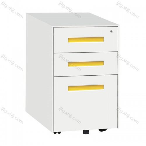 三抽矮柜桌下活动文件柜HDG-11