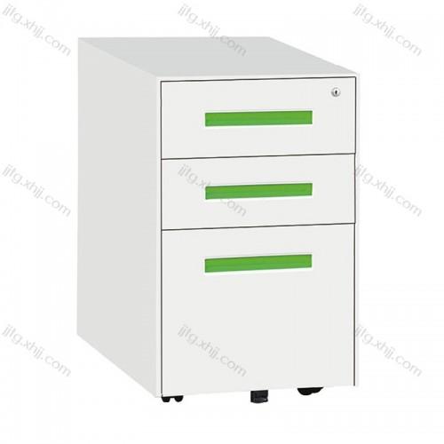 办公室桌下三抽柜活动柜带锁储物柜HDG-10