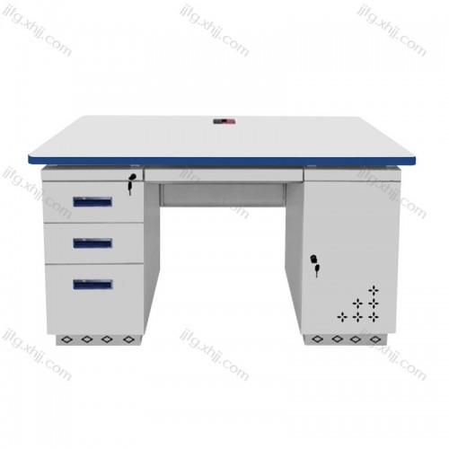 钢制办公桌单人位员工电脑桌GZBGZ-03