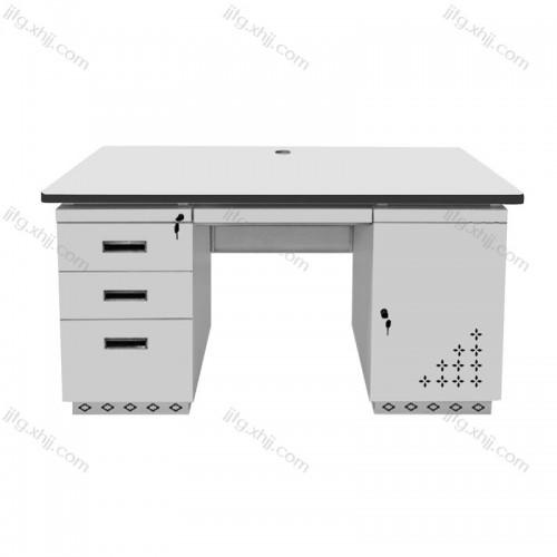 钢制办公桌铁皮电脑桌财务桌GZBGZ-02