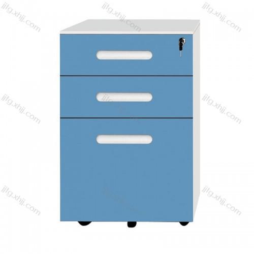 钢制活动柜带锁文件柜矮柜HDG-05