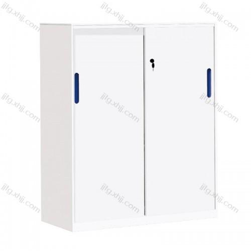 办公文件柜钢制移门矮柜CZG-05