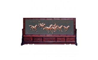 香河紫铜浮雕工艺品j企业文化