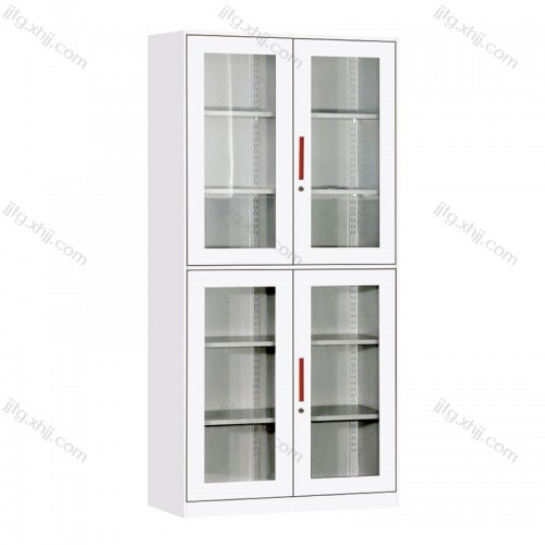 办公家具玻璃开门柜文件柜档案柜BBG-02