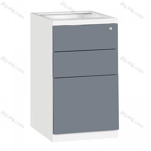 三抽桌底柜带锁办公储物柜ZDG-04