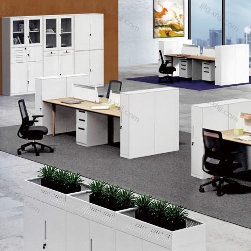 员工位屏风办公桌系统办公区XTBG-04