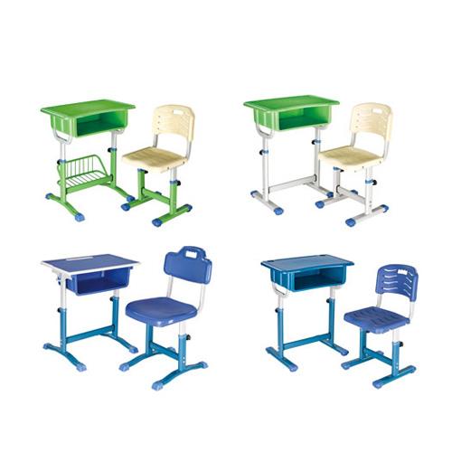 儿童学习桌椅套装可升
