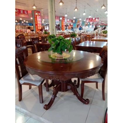 实木环保圆桌