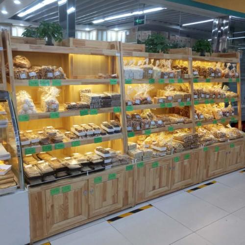 定制糕点货架 多层甜品糕点面包展柜货架03