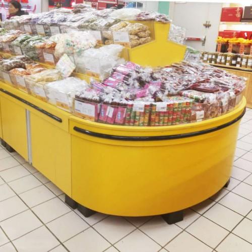 香河超市散货柜厂家 便利店干果陈列柜02