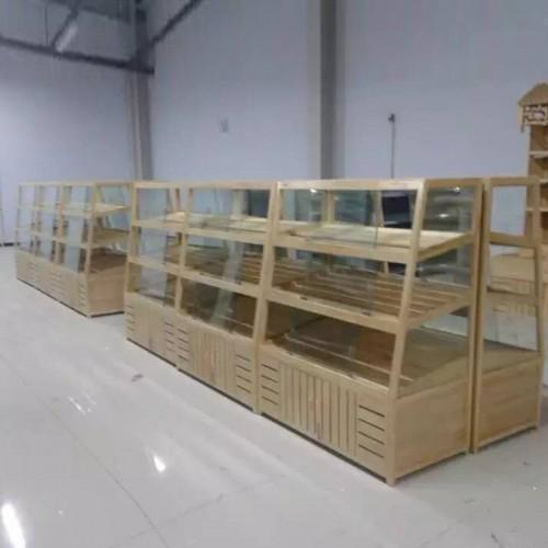 工厂直销多层阶梯糕点展示柜 饼干蛋糕陈列柜04