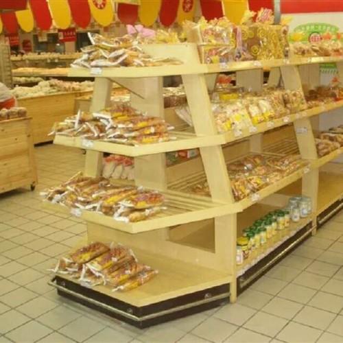 超市蛋糕房面包柜展示柜价格  食品零食架09