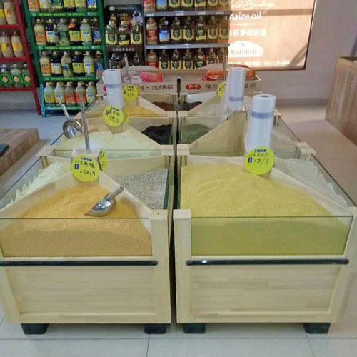 五谷杂粮展示柜 散装食品柜 04