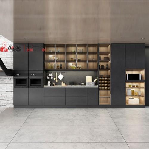 北京汉德全屋定制 整体轻奢厨房橱柜定制价格优惠01