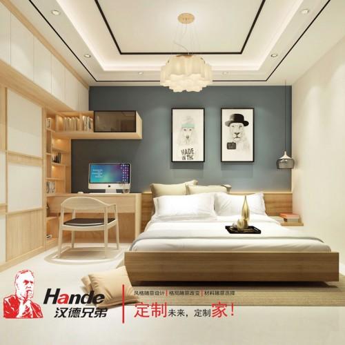 北京小户型卧室定制 板式全屋定制厂家直销08