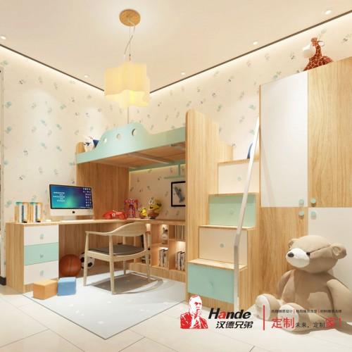 儿童卧室定制厂家 板式儿童床全屋定制10