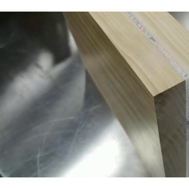 中间加铝板无胶复合 (13播放)