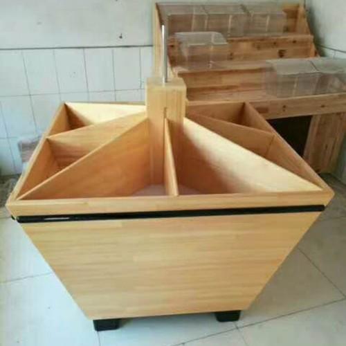 超市货架木制米斗五谷杂粮柜14