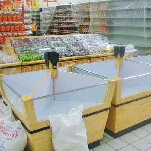 木制超市米柜五谷杂粮粮食货架17