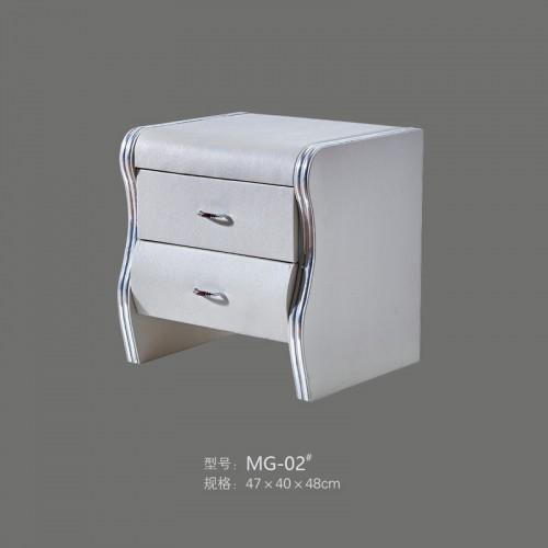简约整装储物柜卧室床头柜批发  MG-02