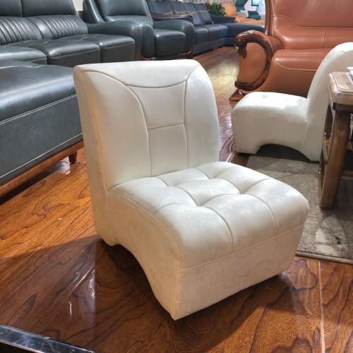 客厅休闲沙发 单人真皮沙发椅01