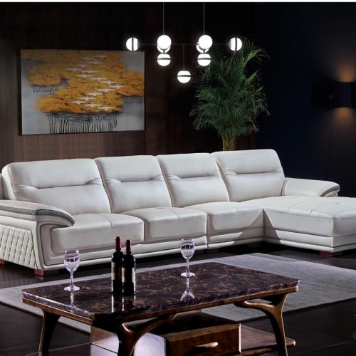 现代客厅转角沙发价格 休闲沙发批发1060