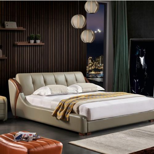 乌金软床采购批发市场  卧室软床品牌厂家M-808
