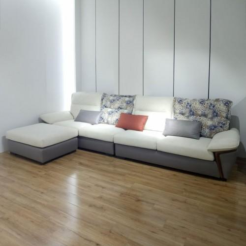 布艺转角沙发批发 客厅休闲沙发厂家988#