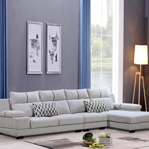 成都森洋品牌沙发 转角休闲沙发厂家915#