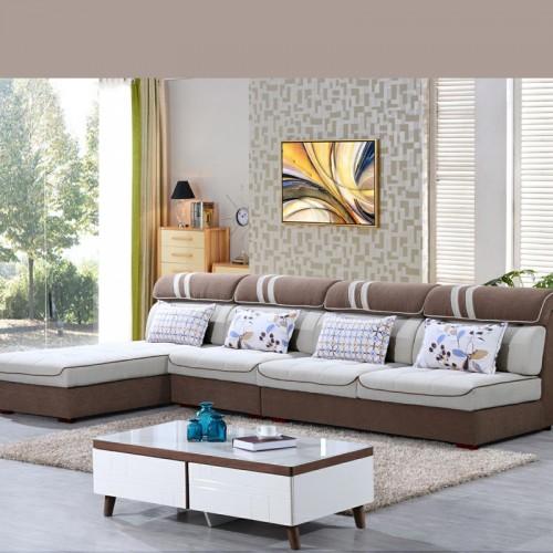 现代时尚沙发品牌专卖  布艺休闲沙发采购938#