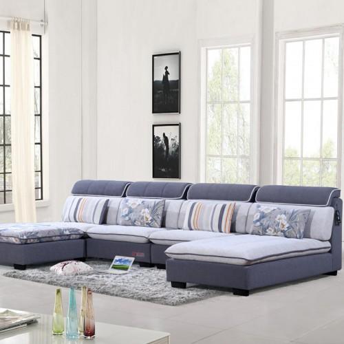 布艺休闲沙发价格 转角沙发供应商 928#