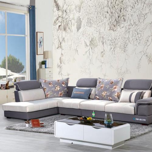 转角休闲沙发采购 时尚休闲沙发价 983#
