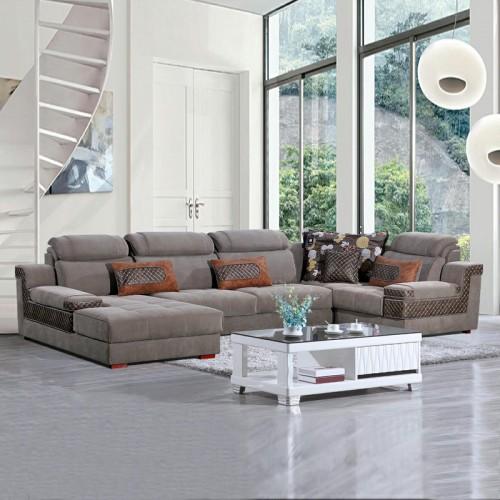 转角沙发供应商 大小户型贵妃位沙发批发 936-A#