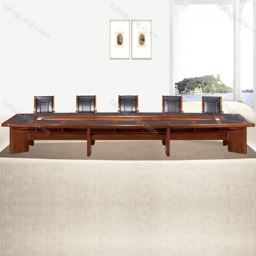 香河大型实木会议桌 油漆办公桌05#