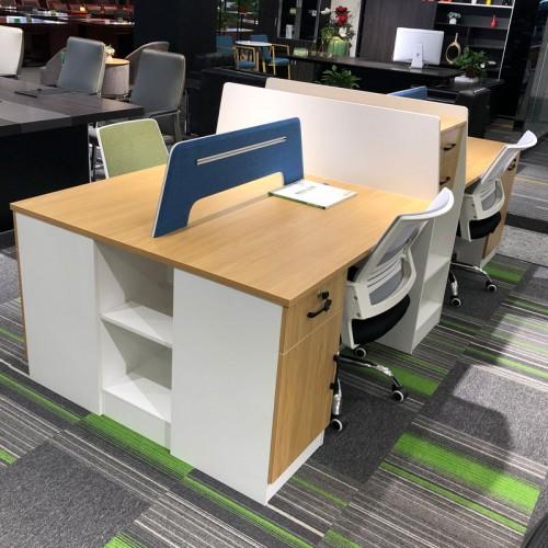 职员办公屏风桌椅组合 板式电脑桌04#