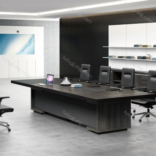 高档办公楼家具 板式会议桌椅价格04#