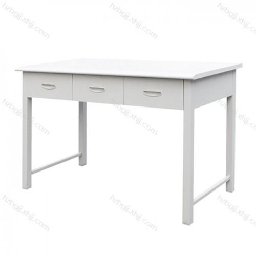 简约办公桌 钢制抽屉式电脑桌03#