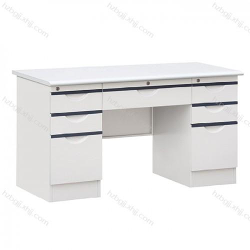 财务带锁办公桌 铁皮电脑桌厂家04#